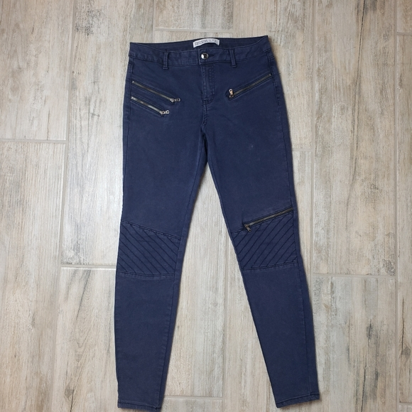 Zara Denim - ZARA basic Jeans With zippers Size 6